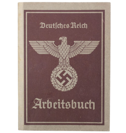 Arbeitsbuch second type (Arbeitsamt Darmstadt)
