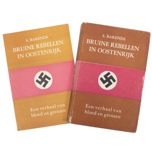 (Book) S. Barends - Bruine rebellen in Oostenrijk + promotional flyer (!)
