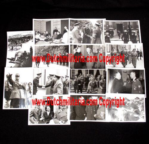 (Dutch NSKK) Large Photogroup of NSKK Führer Erwin Krauss in the Netherlands