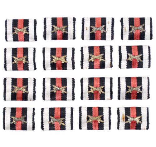 Feldspange Frontkämpfer Ehrenkreuz Single Ribbonbar Hindenburg Honour Cross