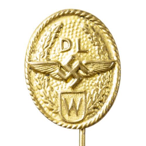German WWII - DL W stickpin