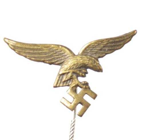 Luftwaffe Eagle Stickpin in bronze