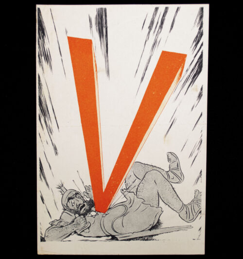 (NSB) Dutch WWII propaganda Viktoria pamphlet