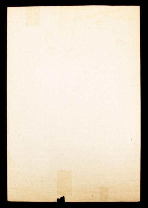 (NSB) Hagespraak document Ordemaatregelen (1937)