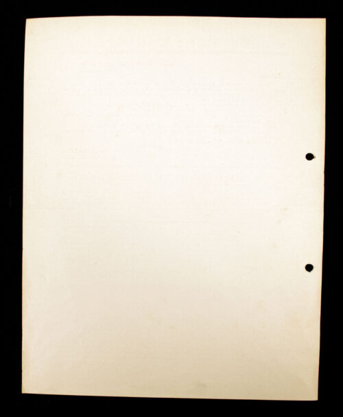 (NSB) Hagespraak document Spoedbericht (1940)