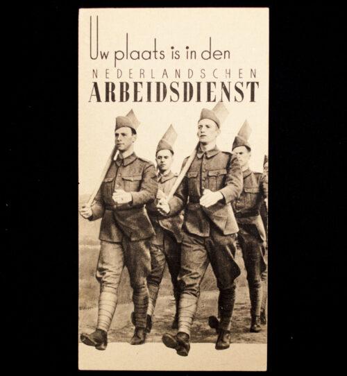 (NSB NAD) Uw Plaats is in den Nederlandschen Arbeidsdienst folder