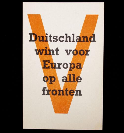 (NSB) Pamphlet Duitschland wint voor Europa op alle fronten
