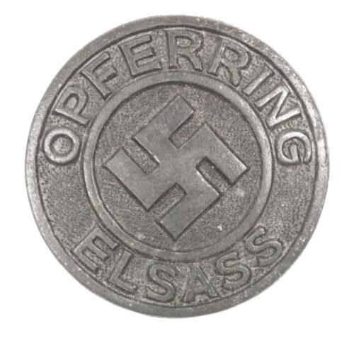 NSDAP Opferring Elsass (R. Hauschild Pforzheim)