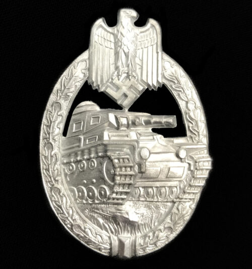 Panzerkampfabzeichen (PKA) Panzer Assault Badge (PAB) by Hermann Aurich - STONE MINT AND BOXED!