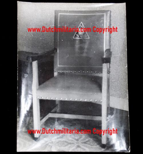 (Photo) De zetel van de Leider (Mussert)