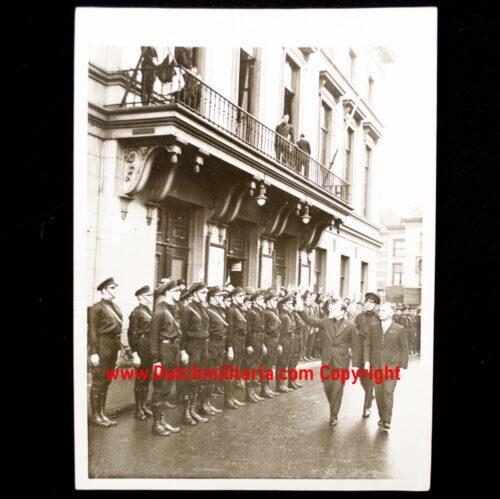 (Photo NSB) Utrecht 71-1933 Congress der Fascisten