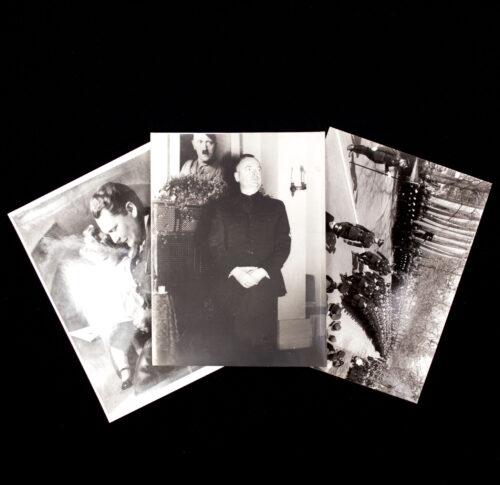 (Photo's NSB) Three large sized WWII photo's