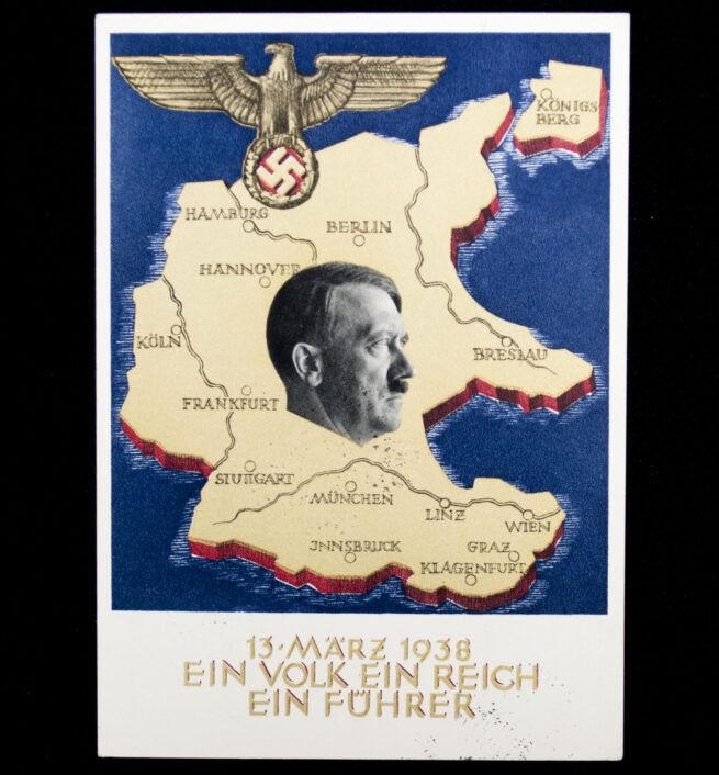 (Postcard) Austrian Annexaton on 13 March 1938