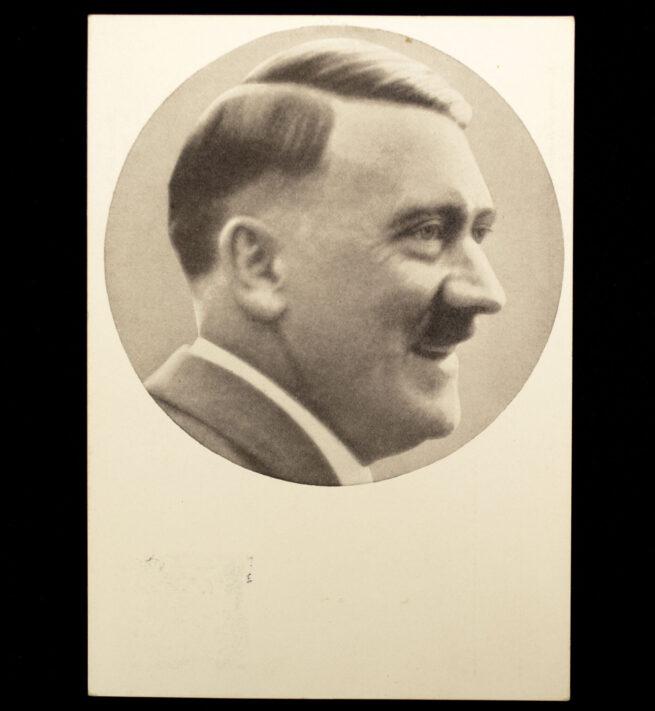 (Postcard) Hitler - 10 April 1938 (first day stamped)