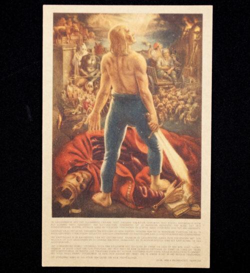 (Postcard NSB) De Nieuwe Mens by Henri van de Velde