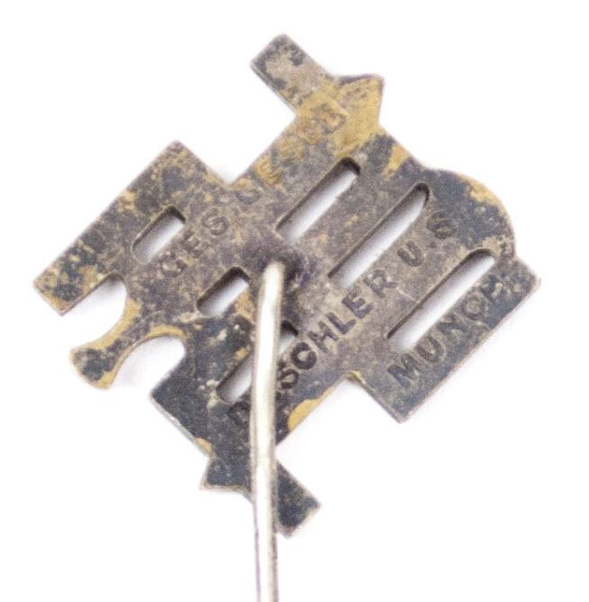 Reichsnährstand Mitgliedsabzeichen Anstechnadel (maker Deschler)