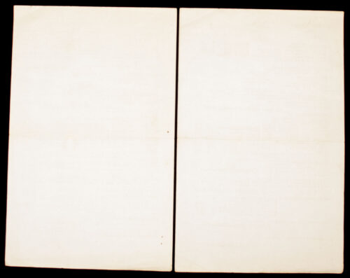 """Two sales pages from """"The Driehoek"""" bookshop (1937)"""