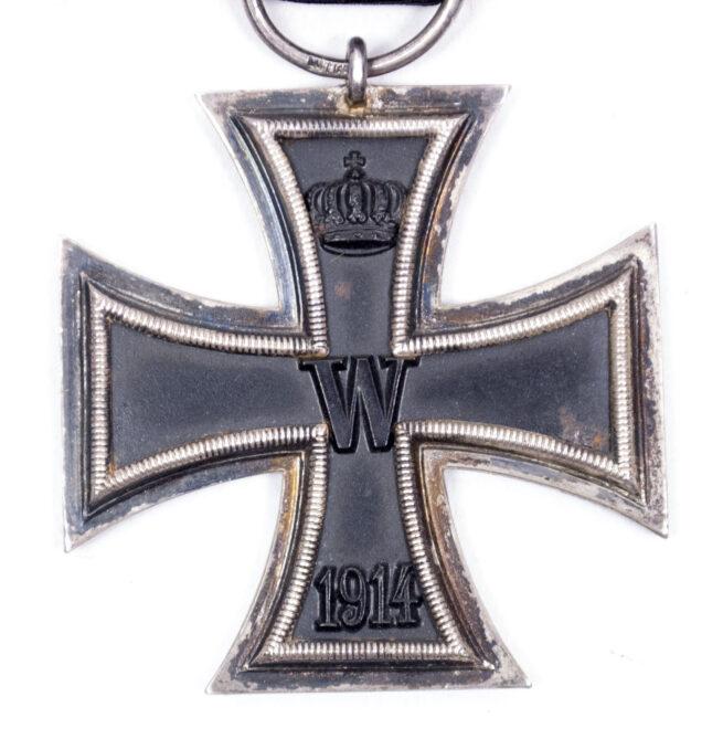 WWI Eiserne Kreuz Zweite Klasse (EK2) Iron Cross second class (maker WILM)