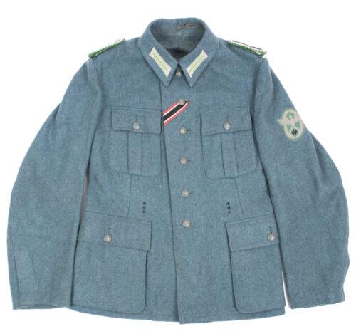 WWII German combat M42 Police Regiment 7 Field Tunic
