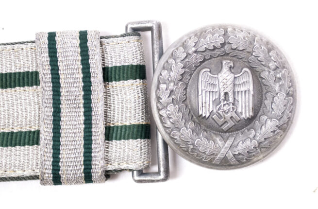 Wehrmacht (Heer) Officers parade belt and buckle