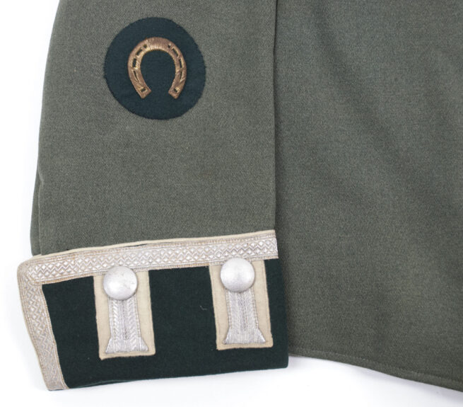 Wehrmacht (Heer) Waffenrock parade tunic Infanterie Regiment 13 with Krimshield and Schützenschnur
