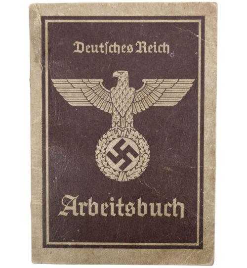 Arbeitsbuch second type from Abeitsamt Bruck a.d.Mur