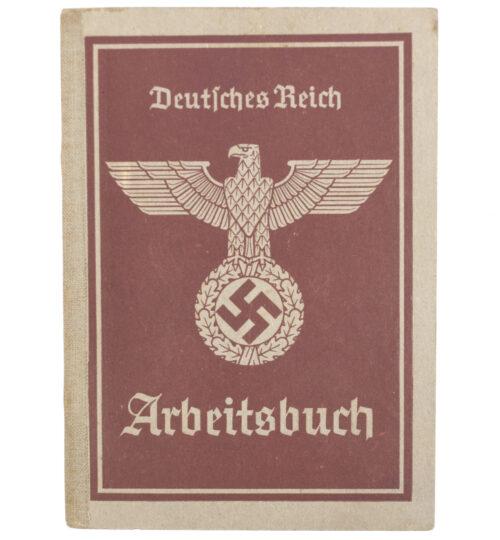Arbeitsbuch second type from Arbeitsamt Düsseldorf