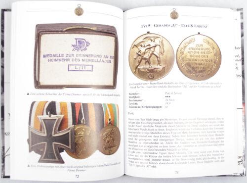 (Book) Die Medaille zür Erinnerung an die Heimkehr des Memellandes