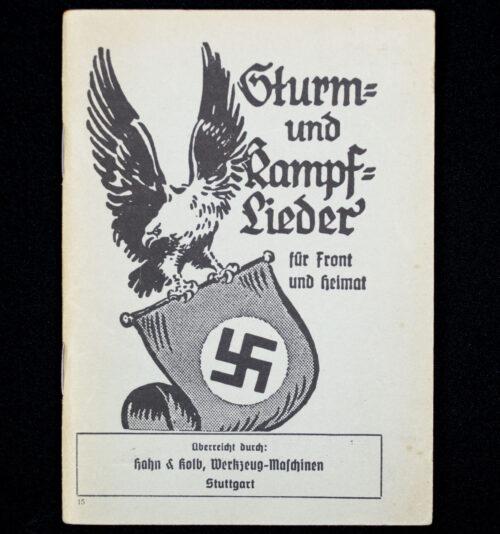 (Book) Sturm und Kampflieder für Front und Heimat