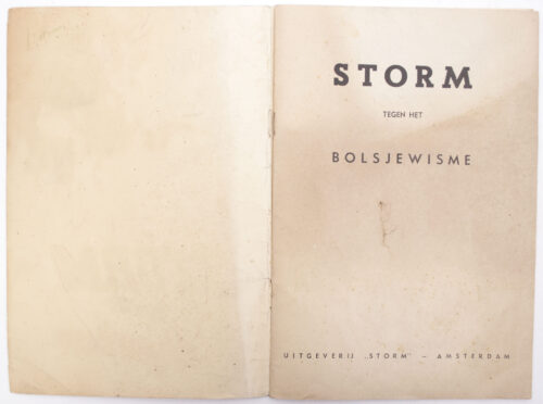 (Brochure) Dutch-SS – Storm tegen het Bolsjewisme