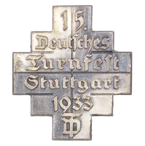 15. Deutsches Turnfest Stuttgart 1933 abzeichen