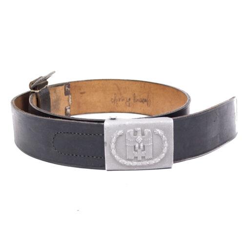 Deutsche Rote Kreuz (DRK) belt + buckle (named!)