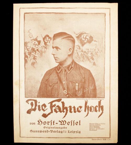 Die Fahne Hoch von Horst Wessel - sheet music