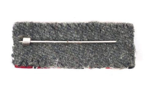 Double ribbon with Ek2 + KVK2 + Ostmedaille