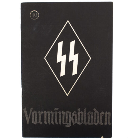 Dutch-SS – SS Vormingsbladen Jrg 3. No.10