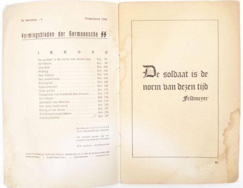 Dutch-SS – SS Vormingsbladen Jrg 3. No.4