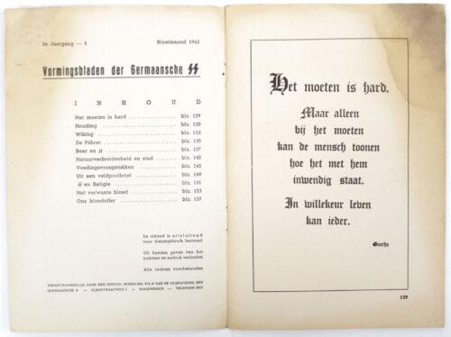 Dutch-SS – SS Vormingsbladen Jrg 3. No.5