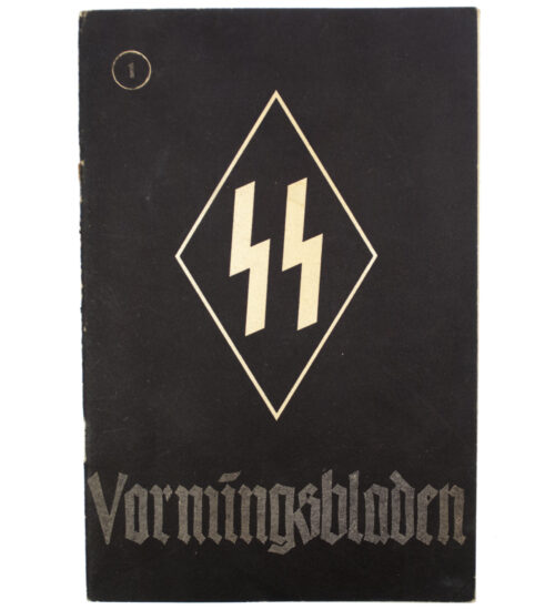 Dutch-SS – SS Vormingsbladen Jrg 4. No.1