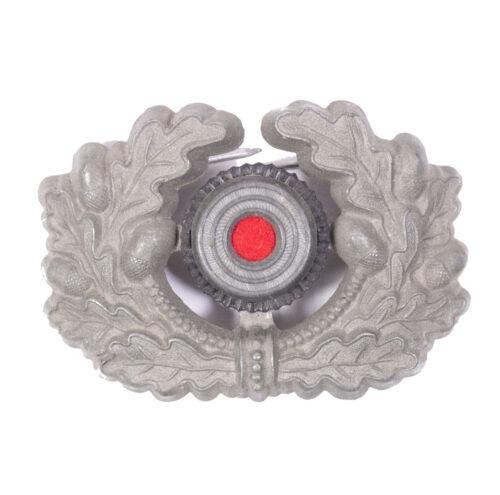 German WWII Visor cap insigniacockarde with wreath