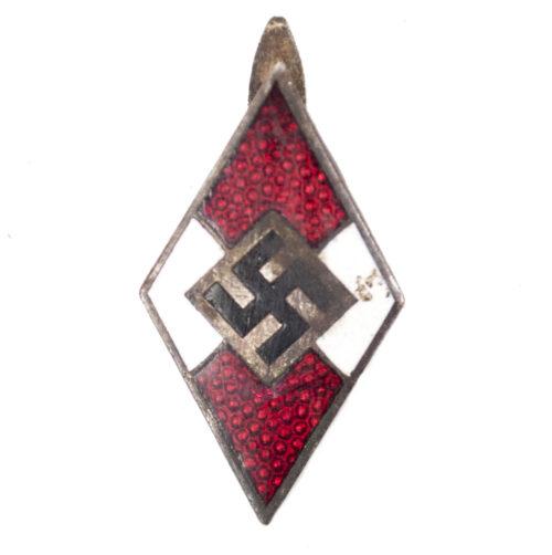 Hitlerjugend (HJ) diamond for HJ Knive (Fahrtenmesser Raute)