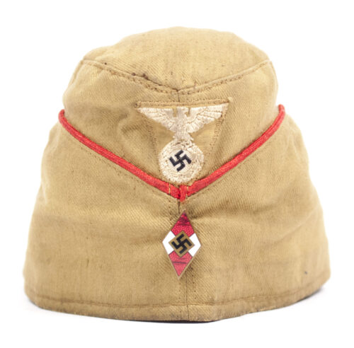 Hitlerjugend (HJ) early type Sommer-Mütze (with RZM tag)