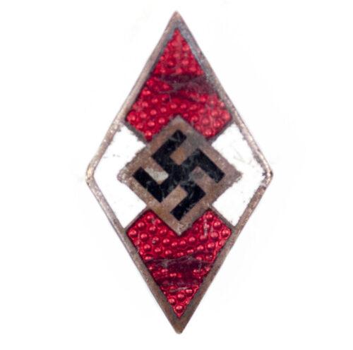 Hitlerjugend (HJ) high leaders cap badge (RZM M172)