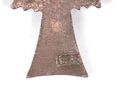 Mutterkreuz / Motherscross bronze miniature (maker L/21)