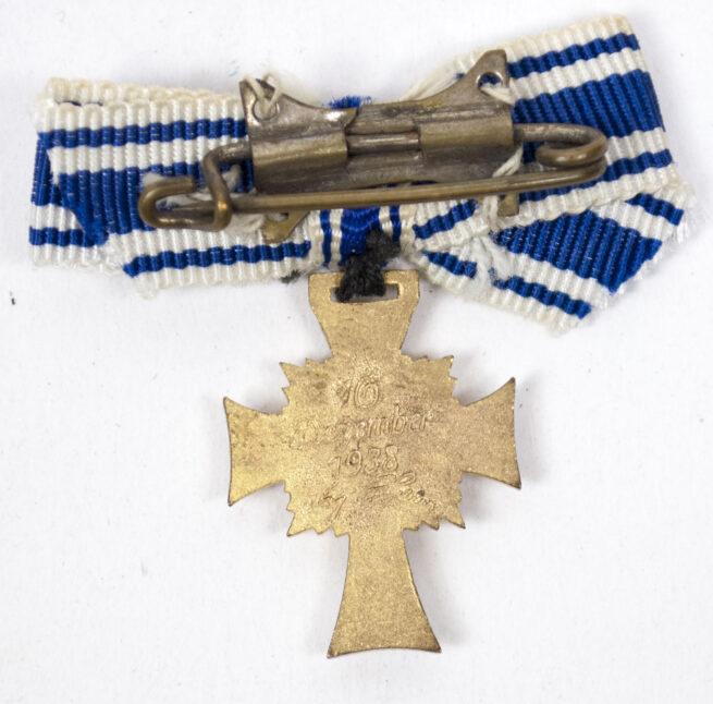 Mutterkreuz Motherscross gold miniature