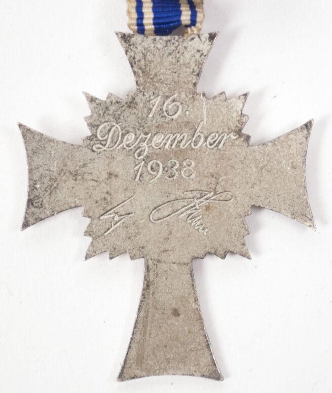 Mutterkreuz Mothersross silver with enveloppe (maker Brüder Schneider)
