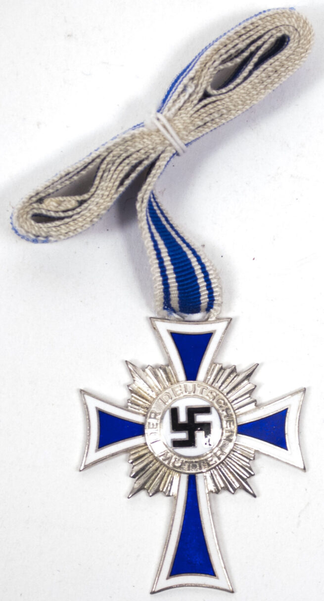 Mutterkreuz Mothersross silver with enveloppe (maker Julius Moser)