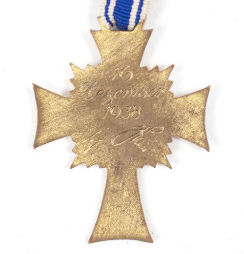 Mutterkreuz gold Gold Motherscross