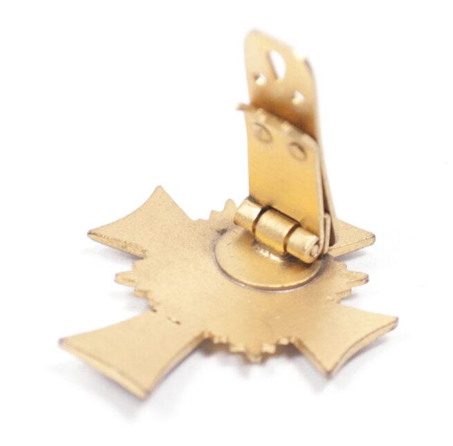 Mutterkreuz gold Halbminiature CLIP Motherscross Halfsize Clasp (EXTREMELY RARE!)