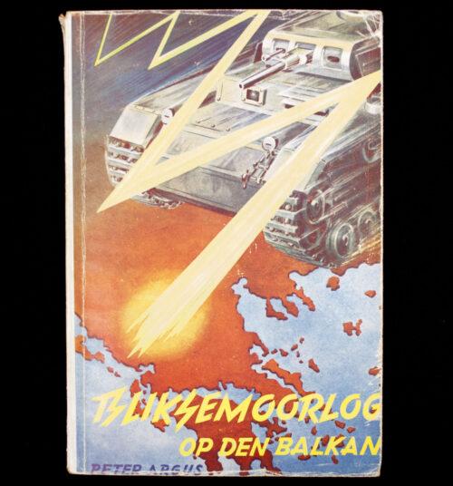 (NSB Book) Bliksemoorlog op de Balkan (Uitgeverij De Delta)