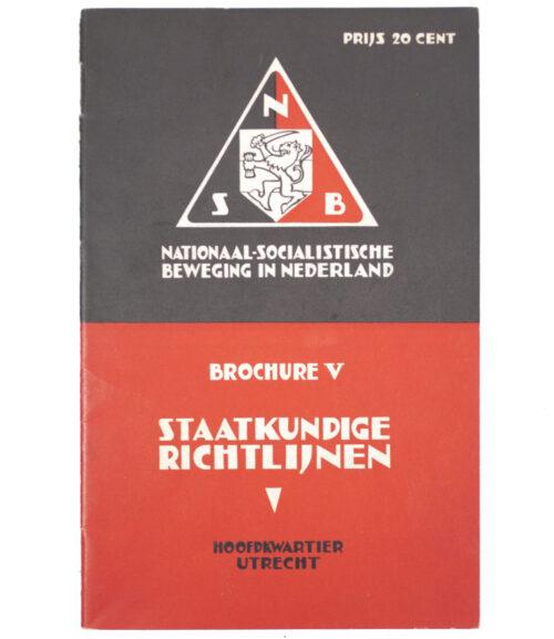 (NSB) Brochure V - Staatkundige richtlijnen